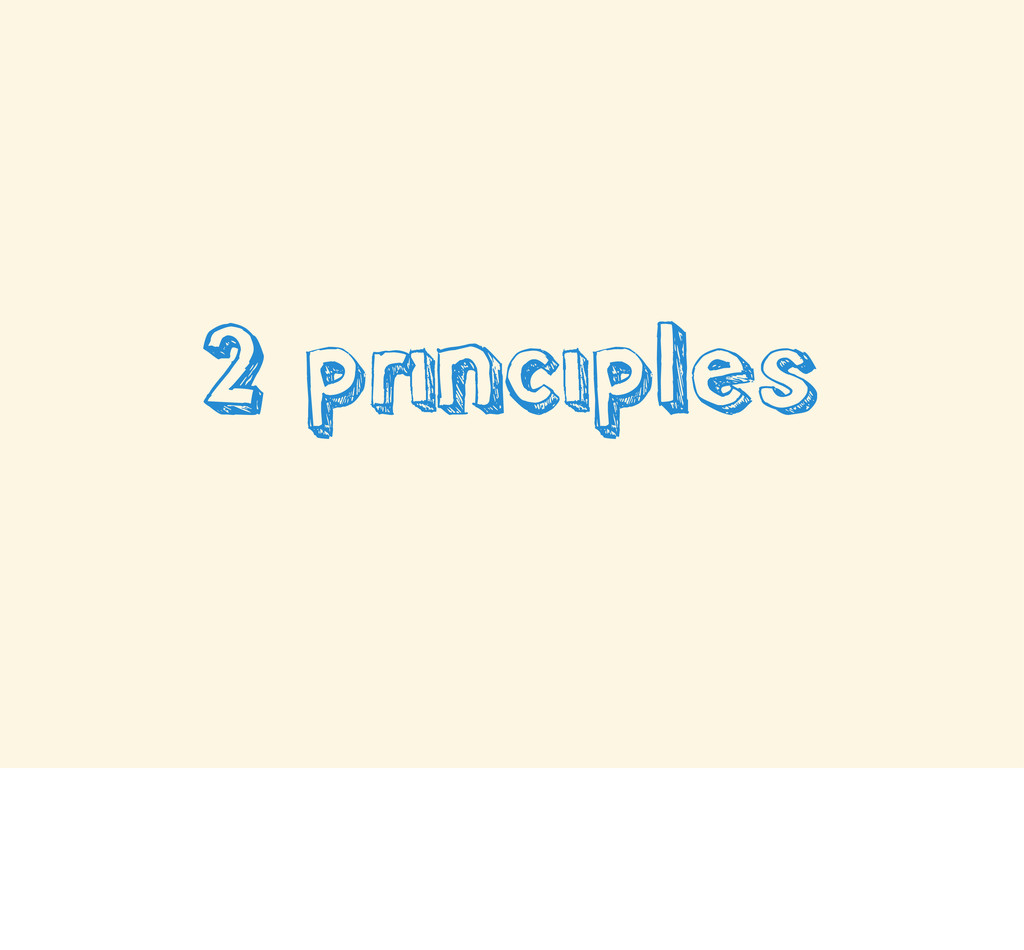 2 principles