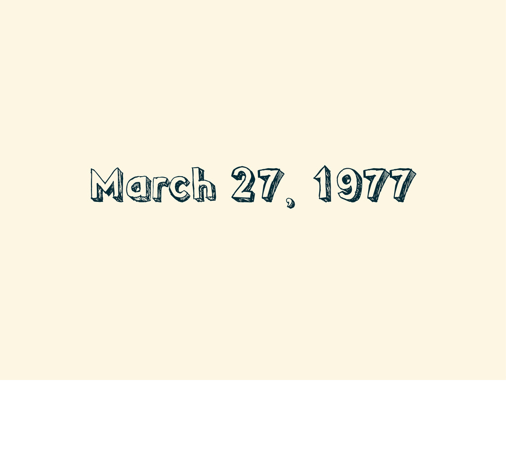March 27, 1977