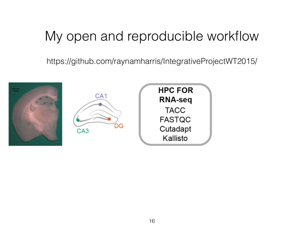My open and reproducible workflow https://github...