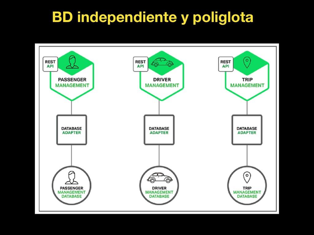 BD independiente y poliglota
