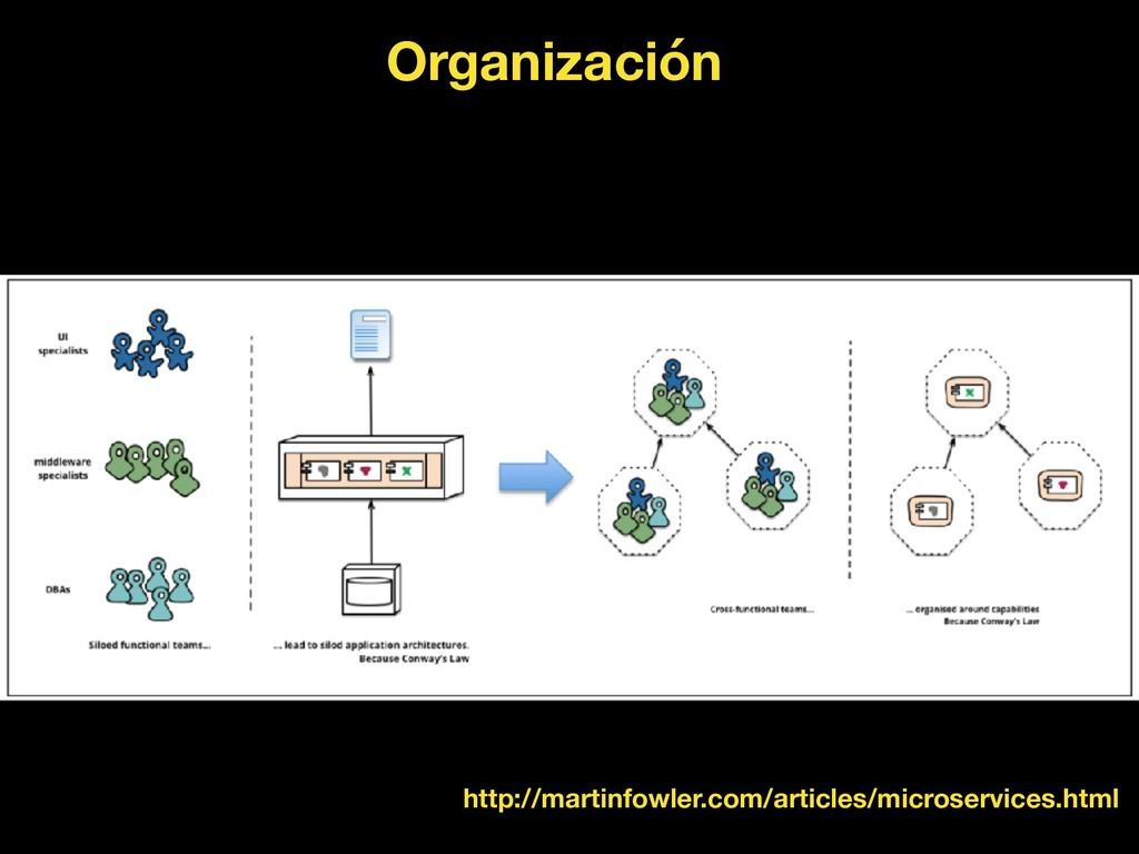 Organización http://martinfowler.com/articles/m...