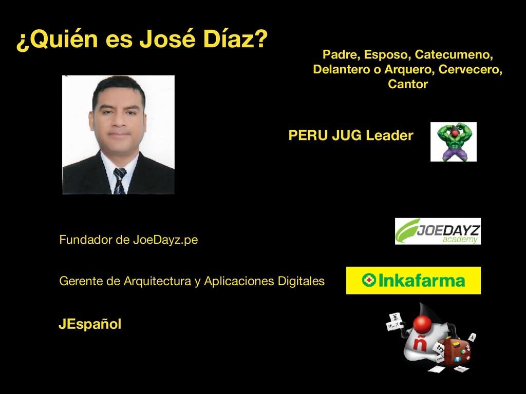 ¿Quién es José Díaz? Fundador de JoeDayz.pe Ger...