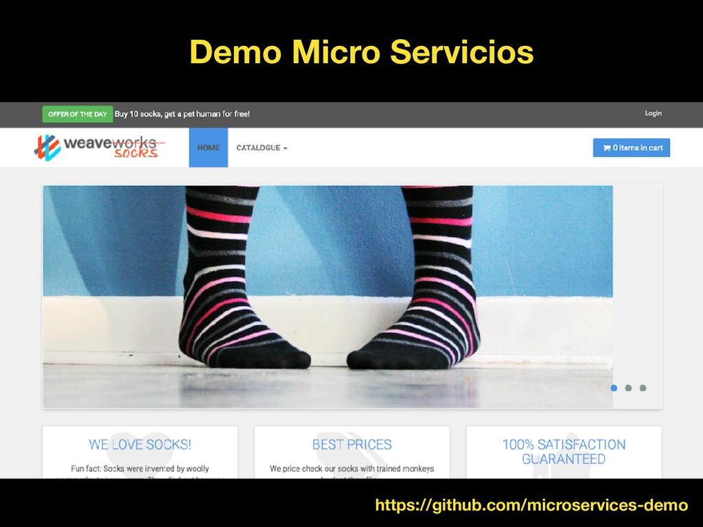 Demo Micro Servicios https://github.com/microse...