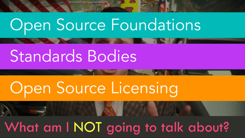 4 Open Source Foundations Standards Bodies Open...