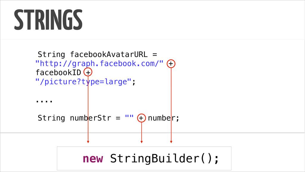 "STRINGS ! String facebookAvatarURL = ""http://gr..."