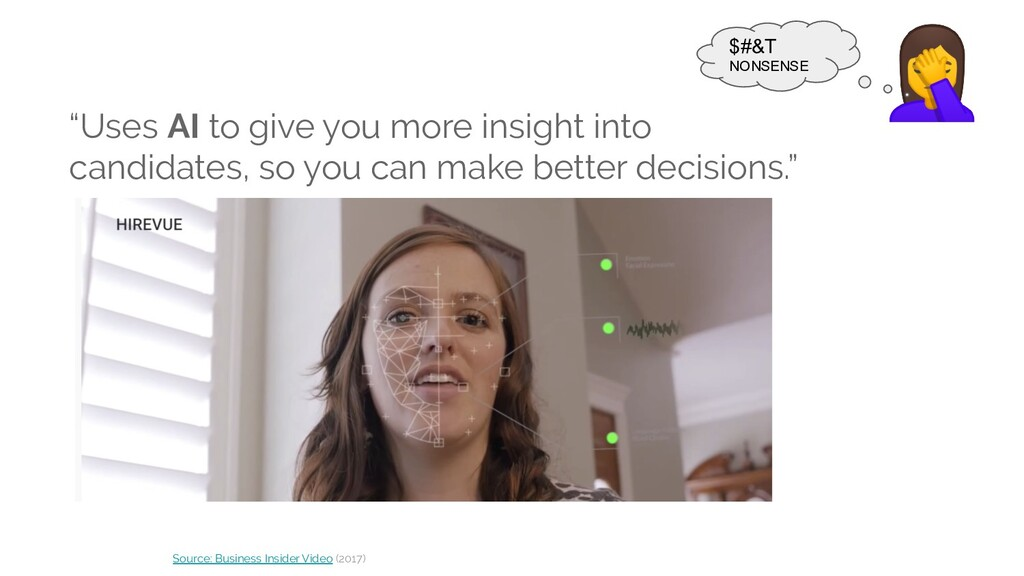 """""""Uses AI to give you more insight into candidat..."""