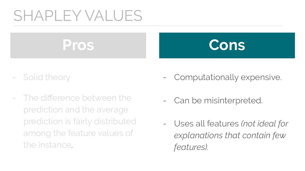 Pros Cons - Solid theory - The difference betwee...