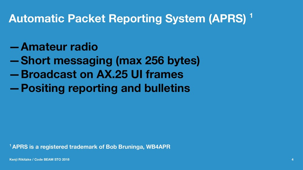 Automatic Packet Reporting System (APRS) 1 —Ama...