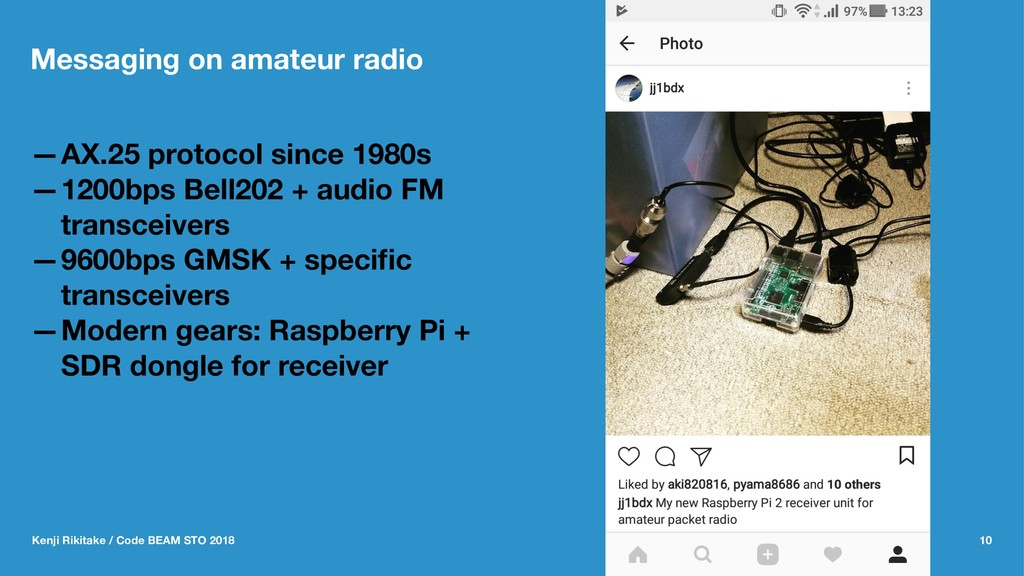 Messaging on amateur radio —AX.25 protocol sinc...
