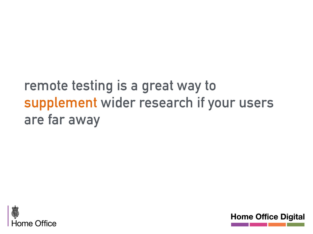 remote testing is a great way to supplement wid...