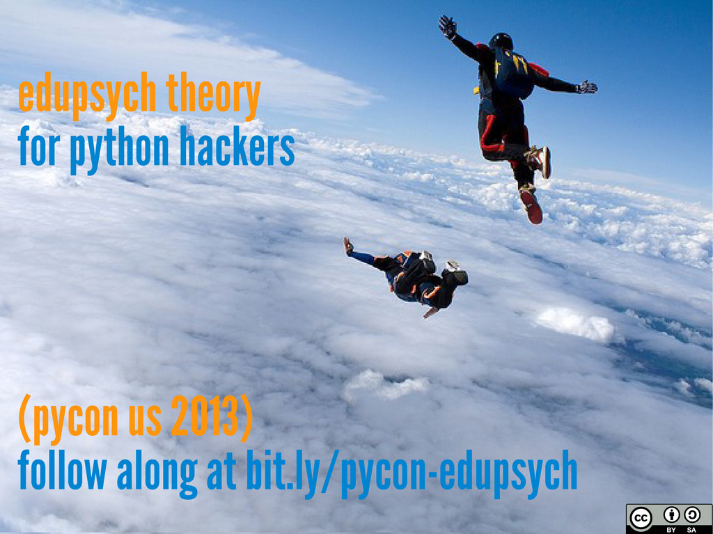 edupsych theory for python hackers (pycon us 20...