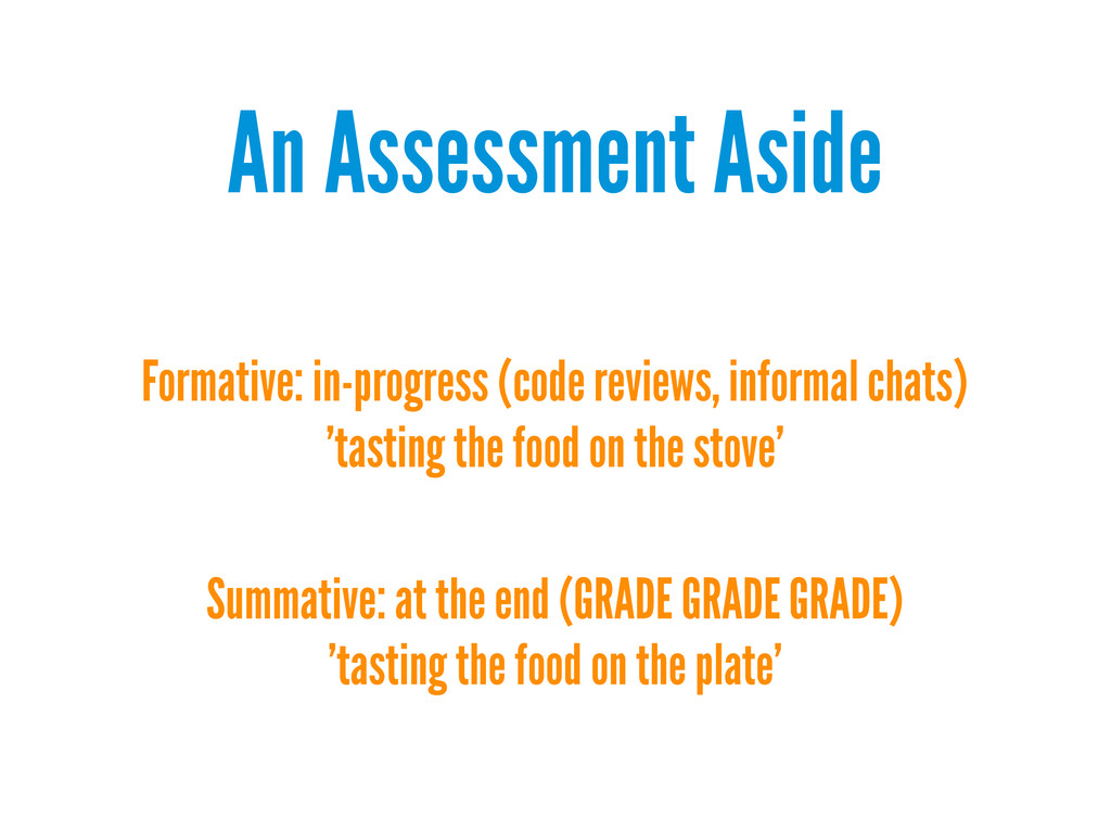 An Assessment Aside Formative: in-progress (cod...