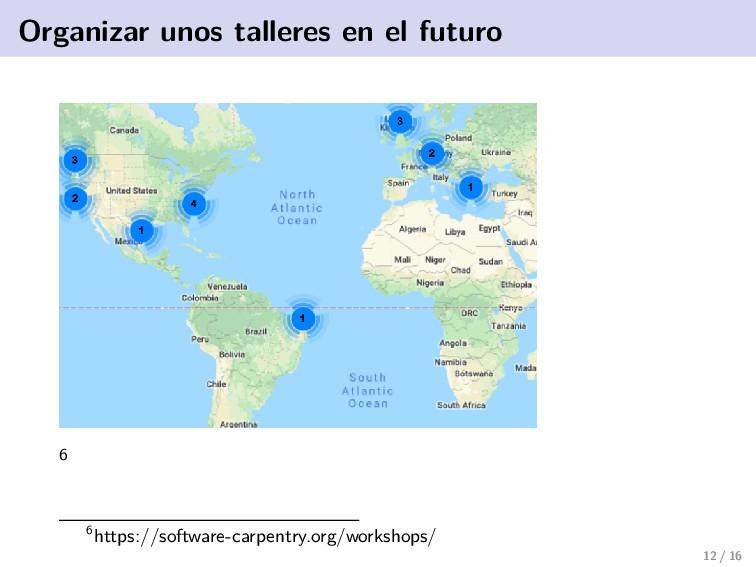 Organizar unos talleres en el futuro 6 6https:/...