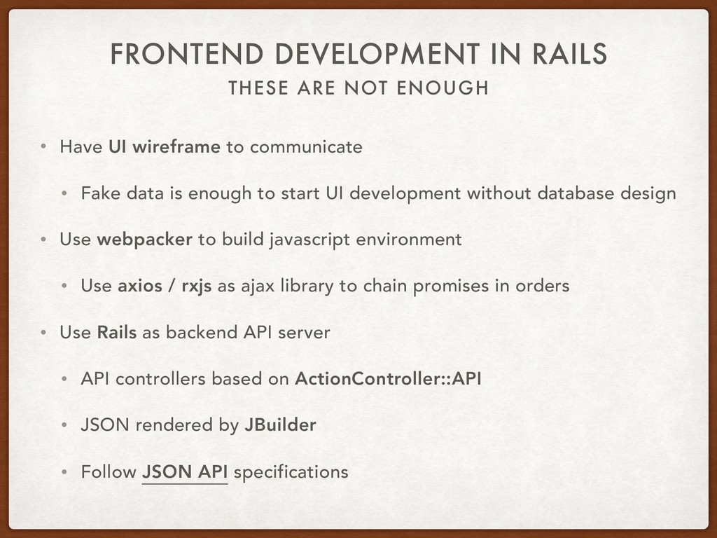 THESE ARE NOT ENOUGH FRONTEND DEVELOPMENT IN RA...