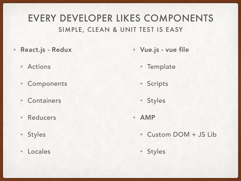 SIMPLE, CLEAN & UNIT TEST IS EASY EVERY DEVELOP...