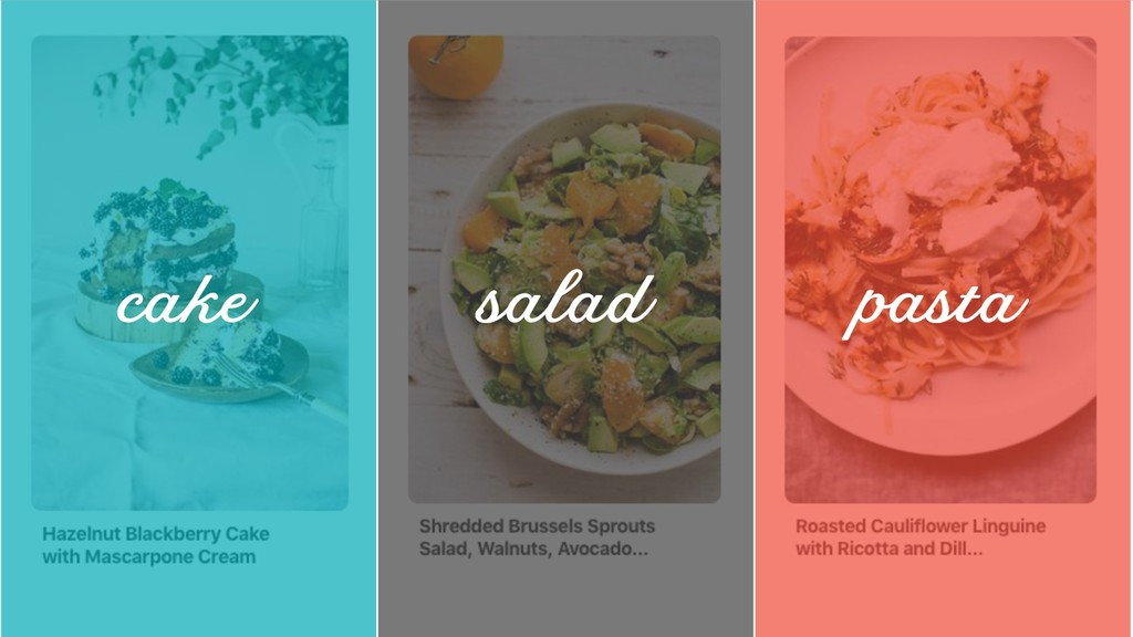 @ redsesame #confabcentral 12 cake salad pasta
