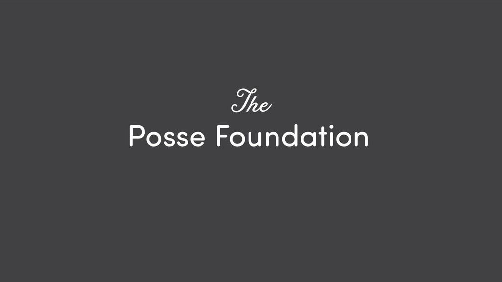 @ redsesame #confabcentral 22 Posse Foundation ...
