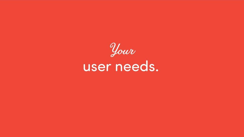 @ redsesame #confabcentral 34 user needs. Your