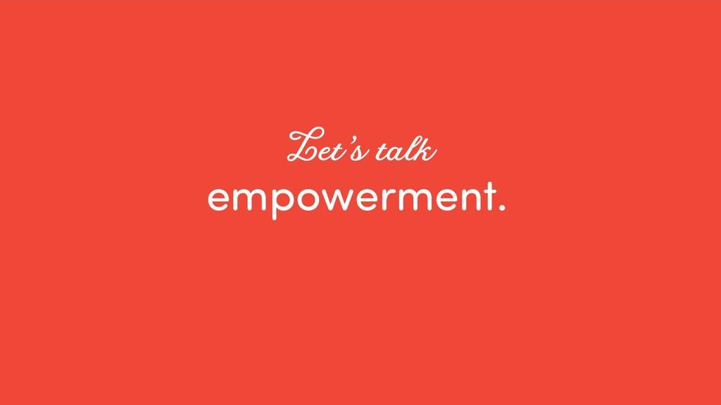 @ redsesame #confabcentral 38 empowerment. Let'...