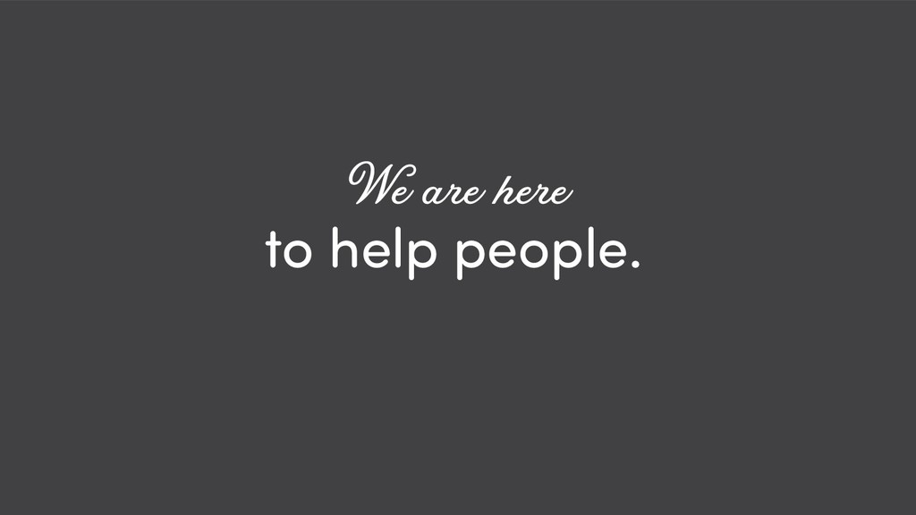 @ redsesame #confabcentral 6 to help people. We...