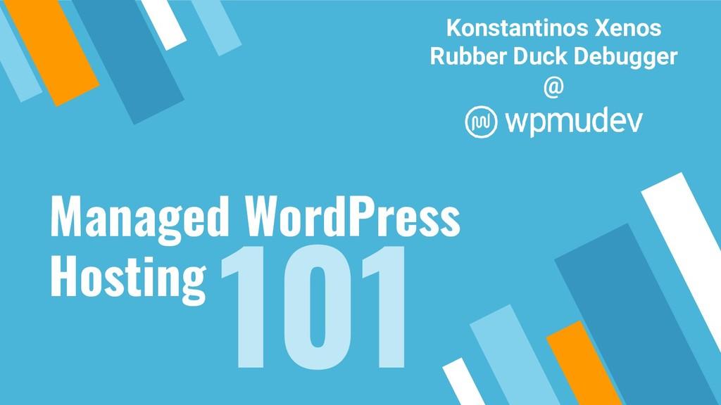 Managed WordPress Hosting Konstantinos Xenos Ru...
