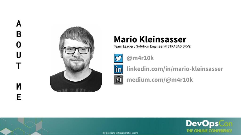 Mario Kleinsasser Team Leader / Solution Engine...