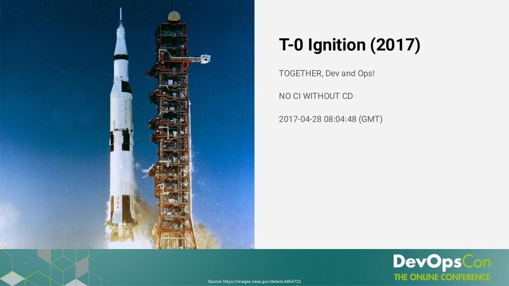 T-0 Ignition (2017) TOGETHER, Dev and Ops! NO C...