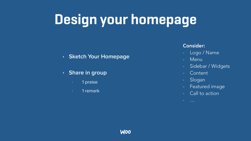 Design your homepage • Sketch Your Homepage • S...