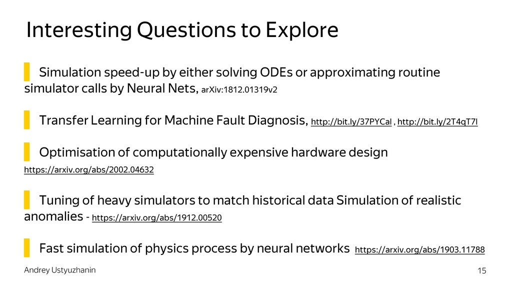 Interesting Questions to Explore ▌ Simulation s...
