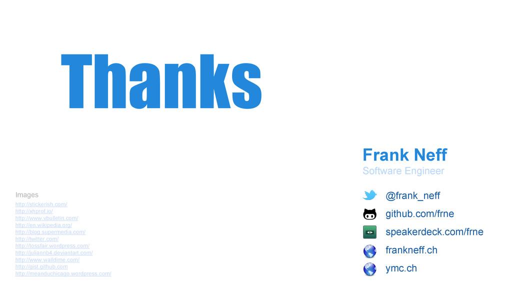Frank Neff Software Engineer Thanks http://stic...
