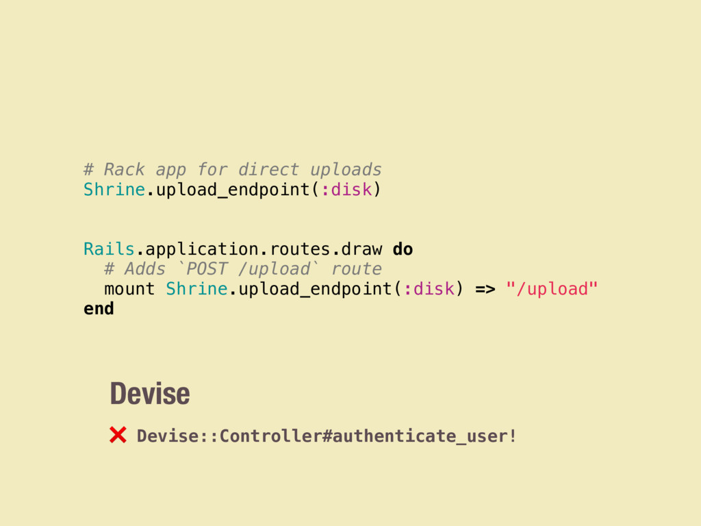 Devise ❌ Devise::Controller#authenticate_user! ...