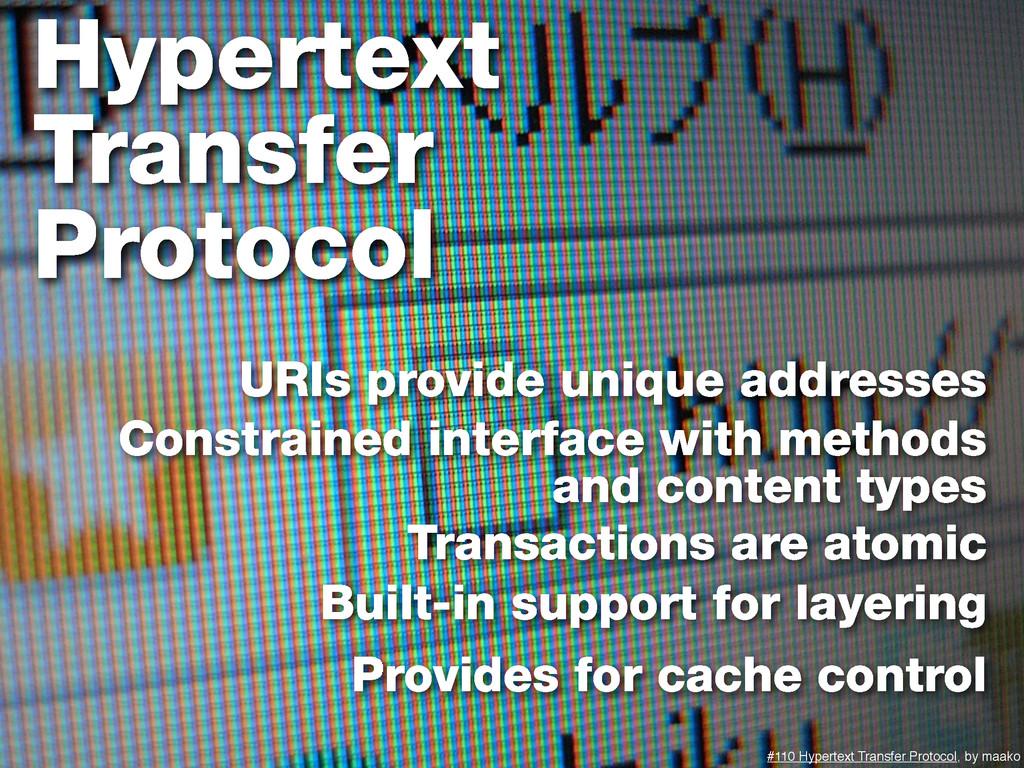 Hypertext Transfer Protocol #110 Hypertext Tran...
