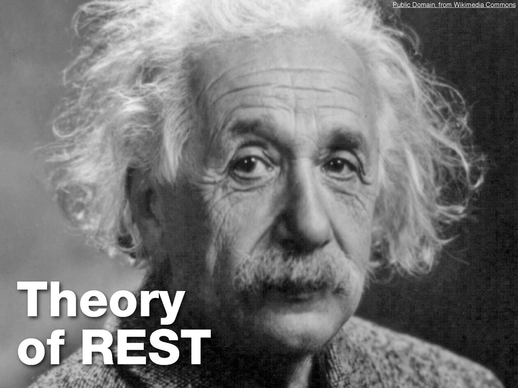 Theory of REST Public Domain, from Wikimedia Co...