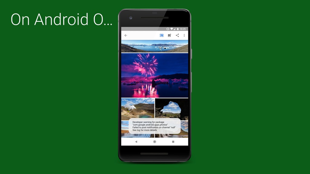On Android O…