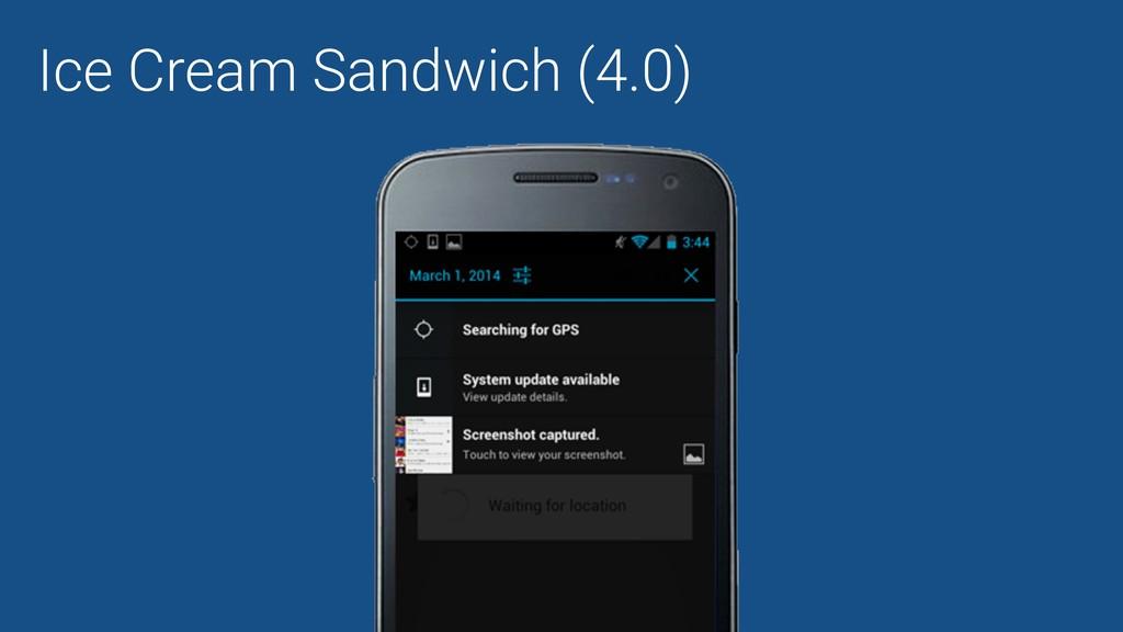 Ice Cream Sandwich (4.0)