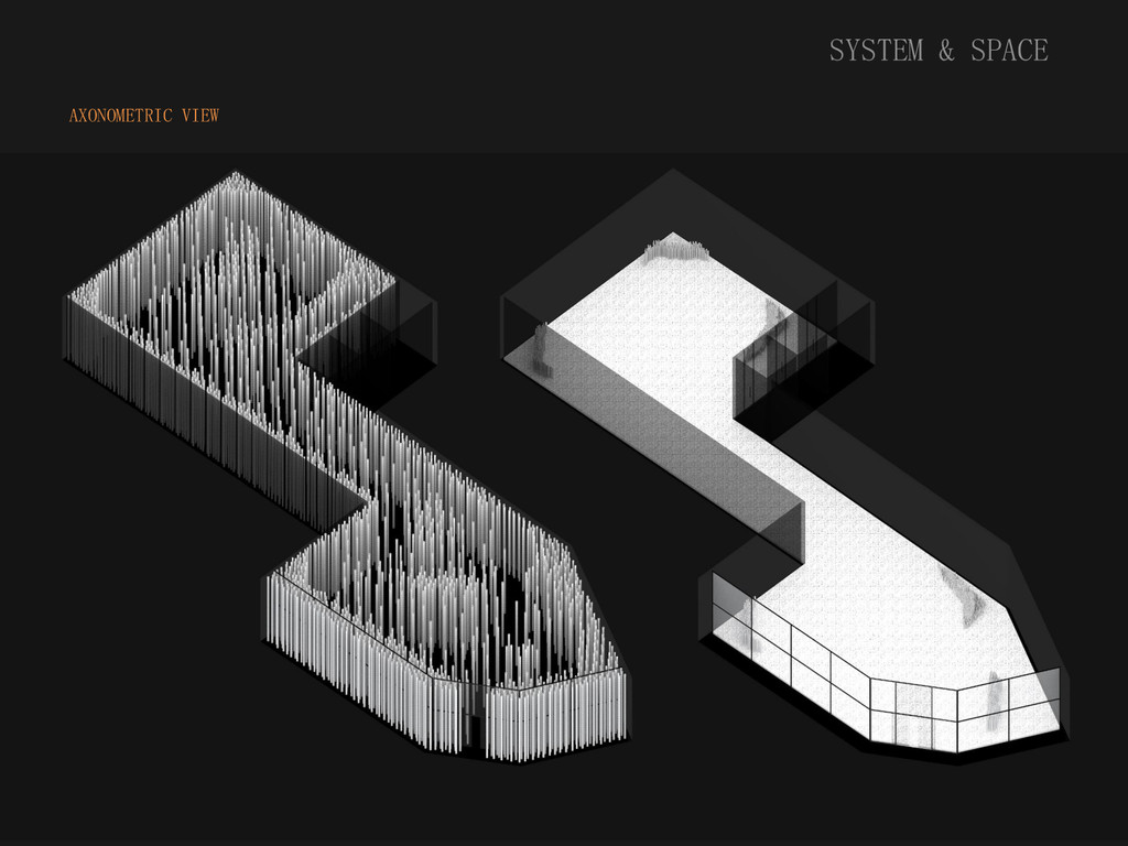 SYSTEM & SPACE AXONOMETRIC VIEW