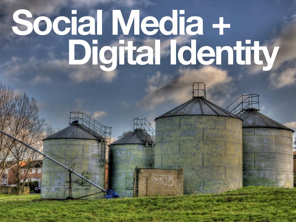Social Media + Digital Identity