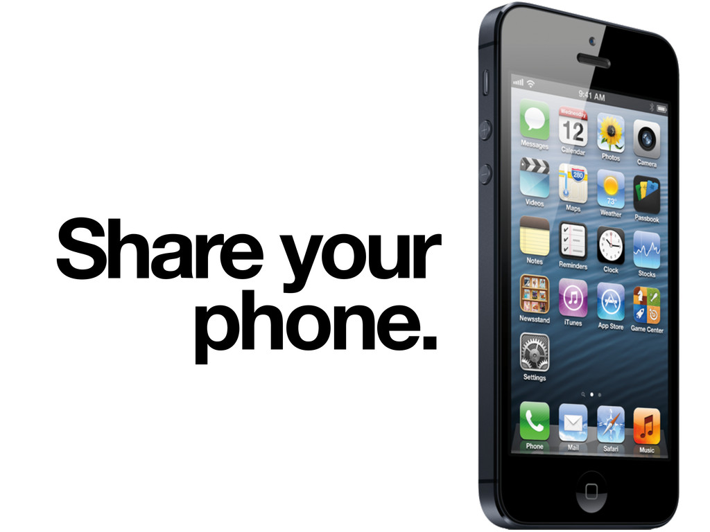 Share your phone.