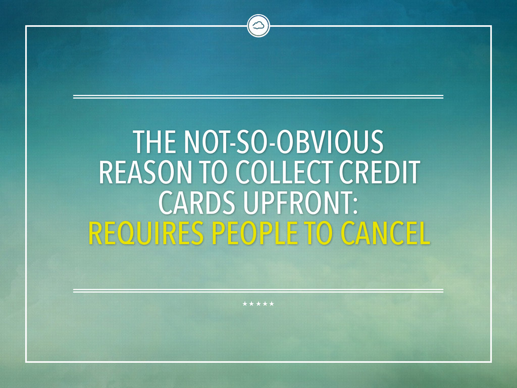 THE NOT-SO-OBVIOUS REASON TO COLLECT CREDIT CAR...