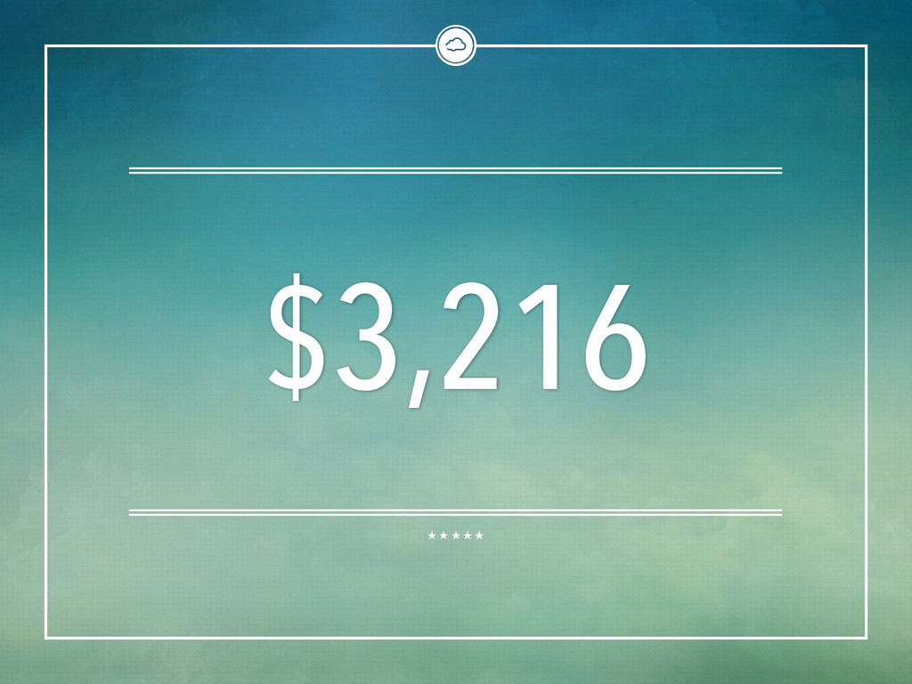$3,216