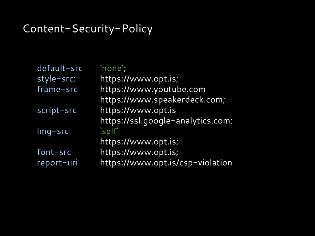 Content-Security-Policy default-src 'none'; sty...