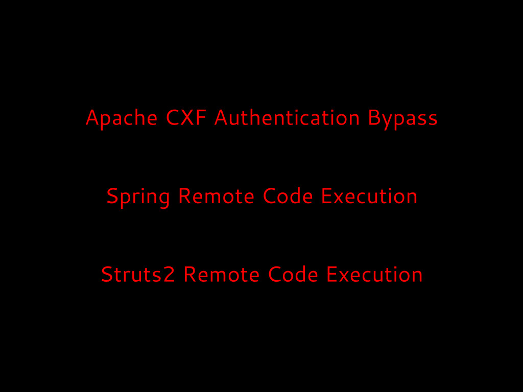Apache CXF Authentication Bypass Spring Remote ...