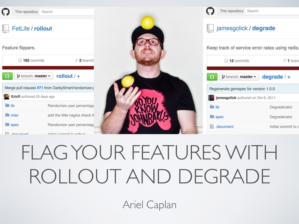 FLAG YOUR FEATURES WITH ROLLOUT AND DEGRADE Ari...
