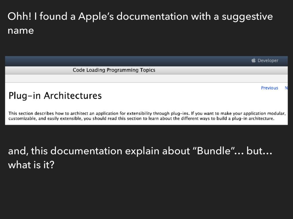 Ohh! I found a Apple's documentation with a sug...