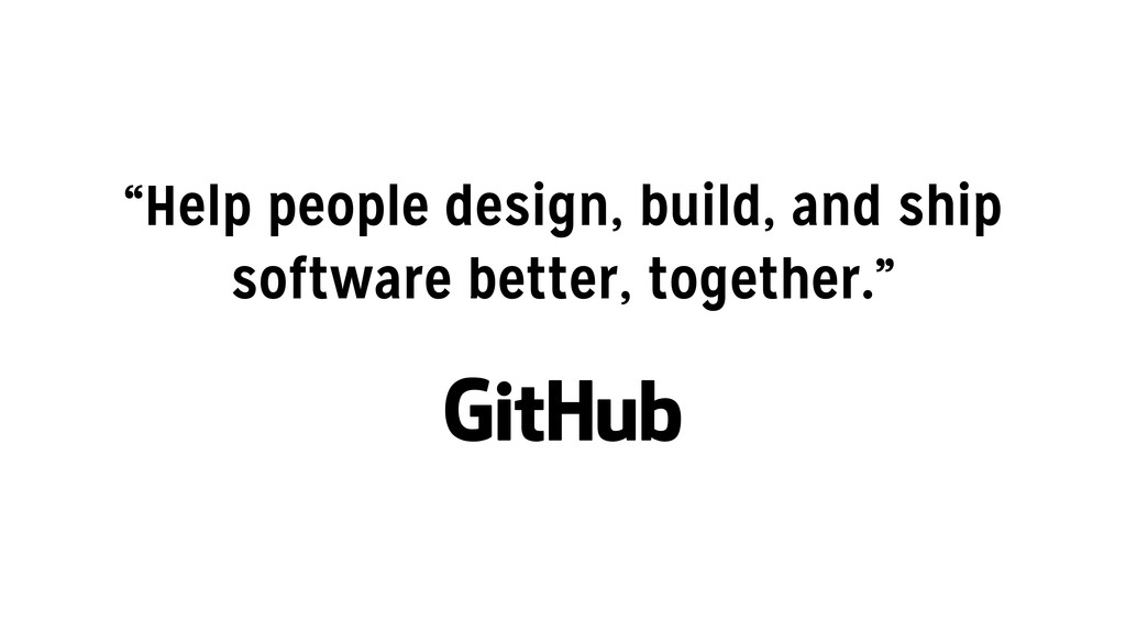 """Help people design, build, and ship software b..."