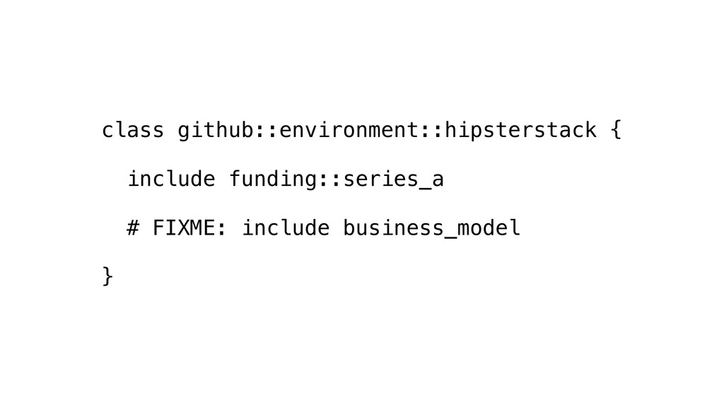 class github::environment::hipsterstack { inclu...