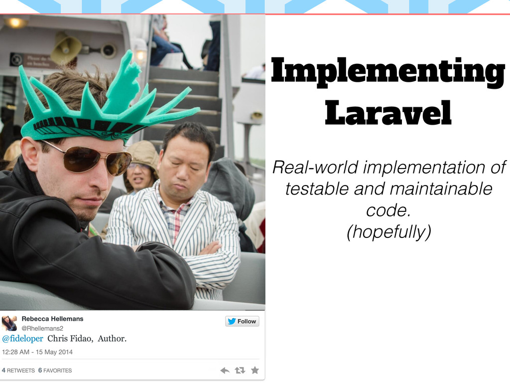 Implementing Laravel Real-world implementation ...