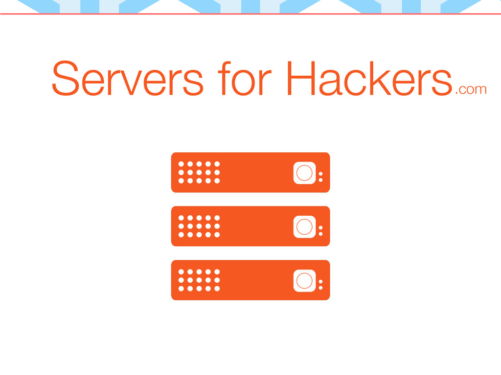 Servers for Hackers.com
