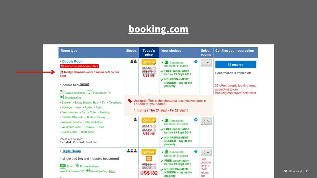 @bsonefeld • ,43 booking.com