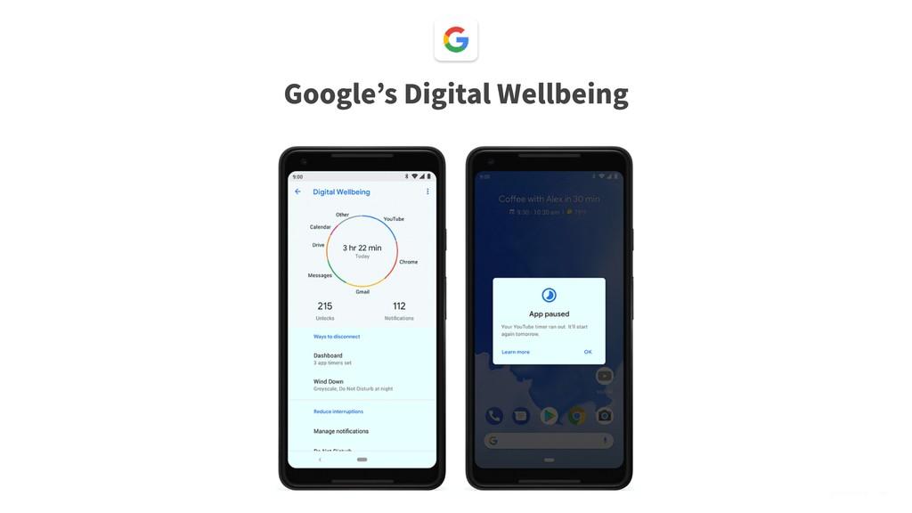 @bsonefeld • ,88 Google s Digital Wellbeing